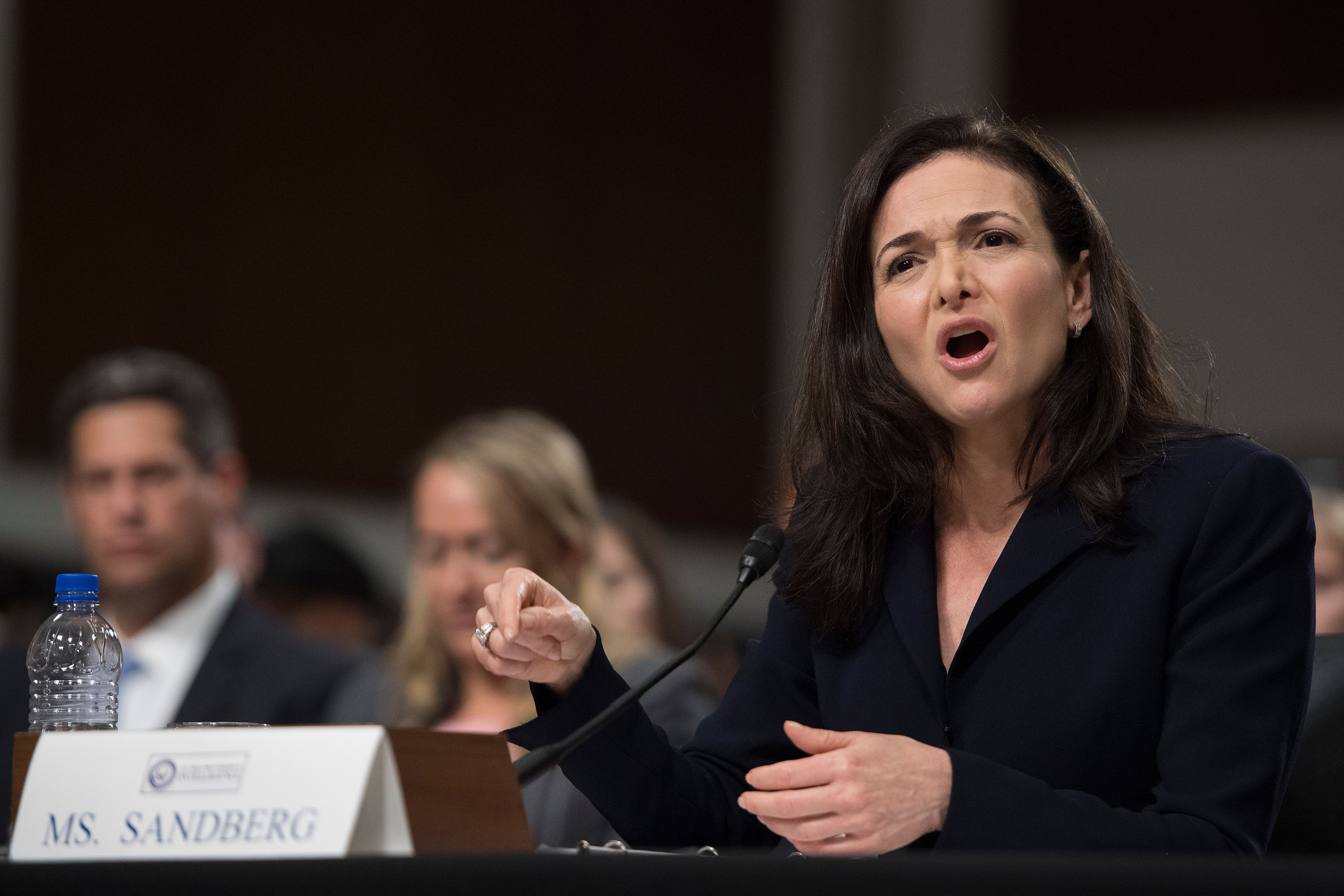 Sheryl Sandberg and Jack Dorsey handle congressional hearing pressure