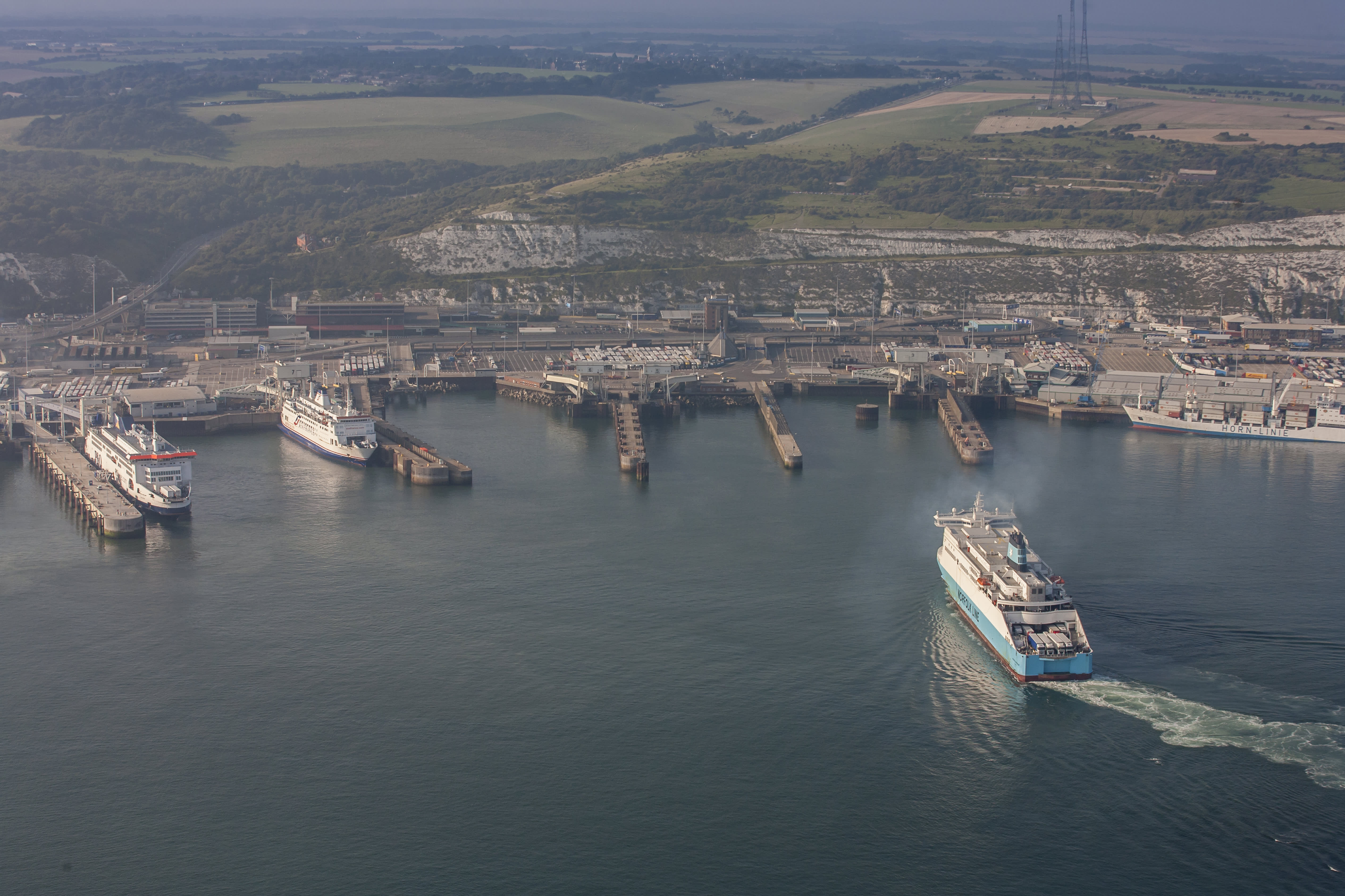 Brexit threatens to cause some major trade disruption in Dover