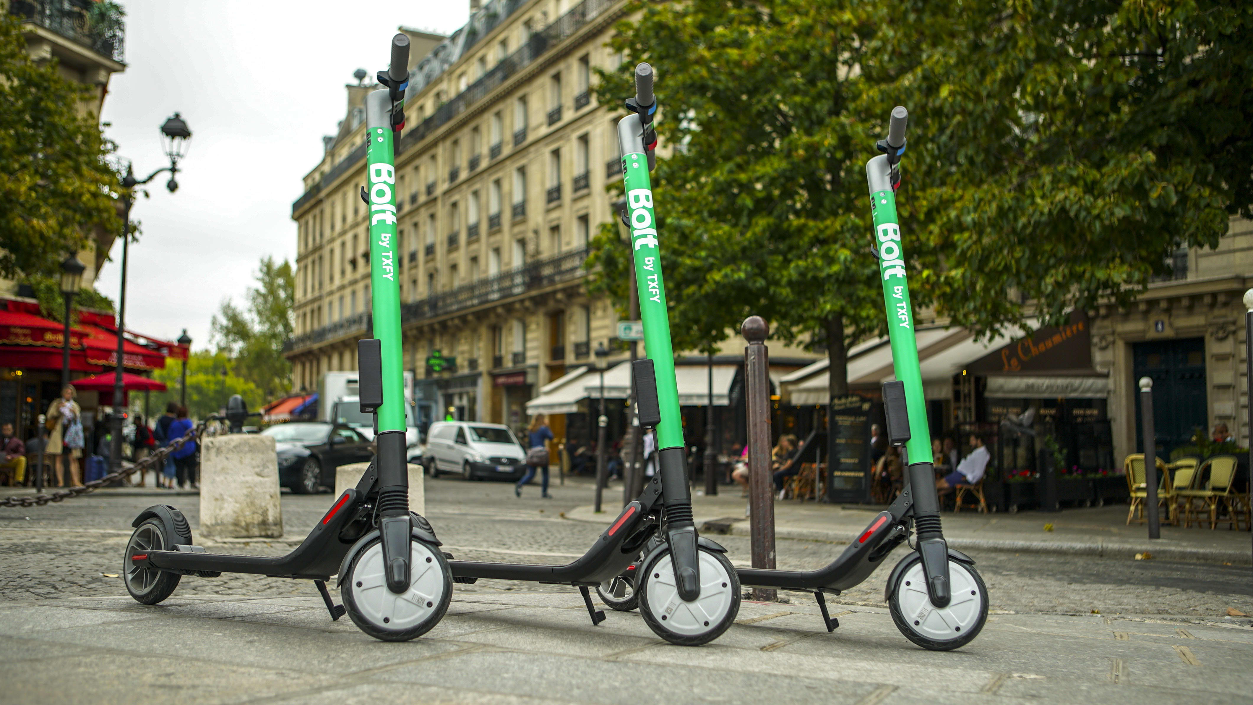Taxify electric scooter hire app launches in Paris