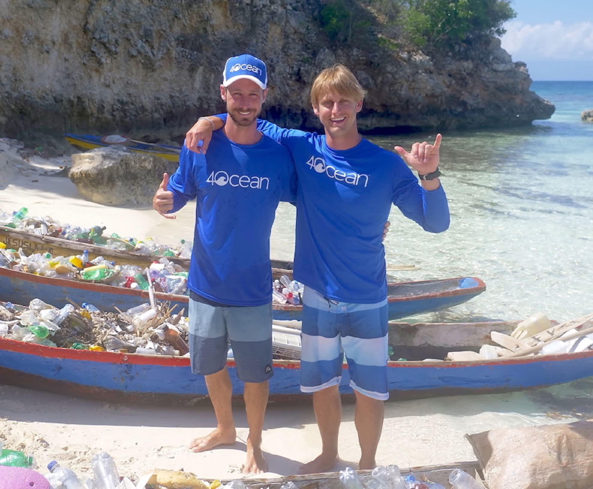 22f9a927e7 These 20-something surfers started a company that's pulled 1 million pounds  of garbage out of the ocean