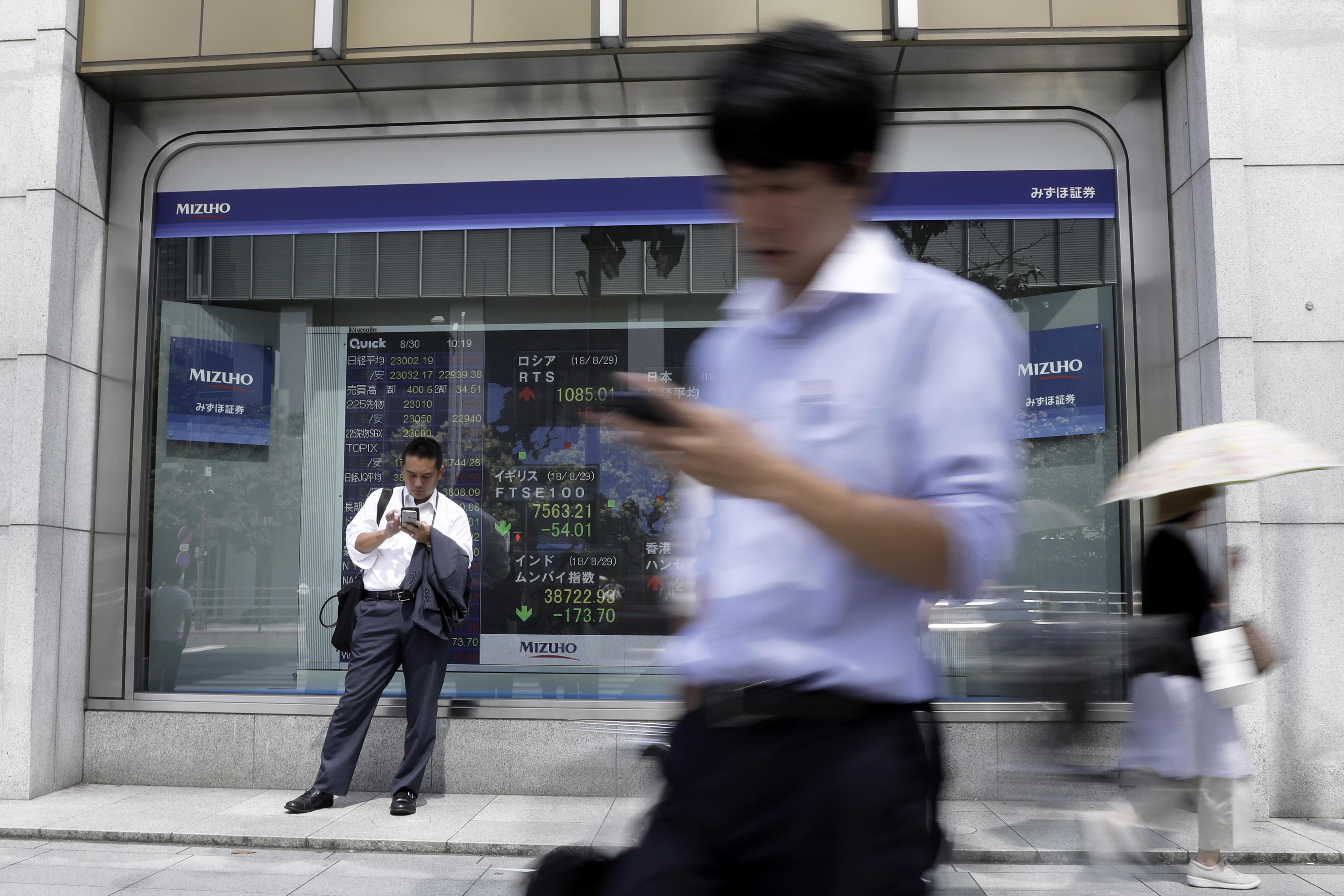 Asia markets mixed ahead of this week's US-China trade talks