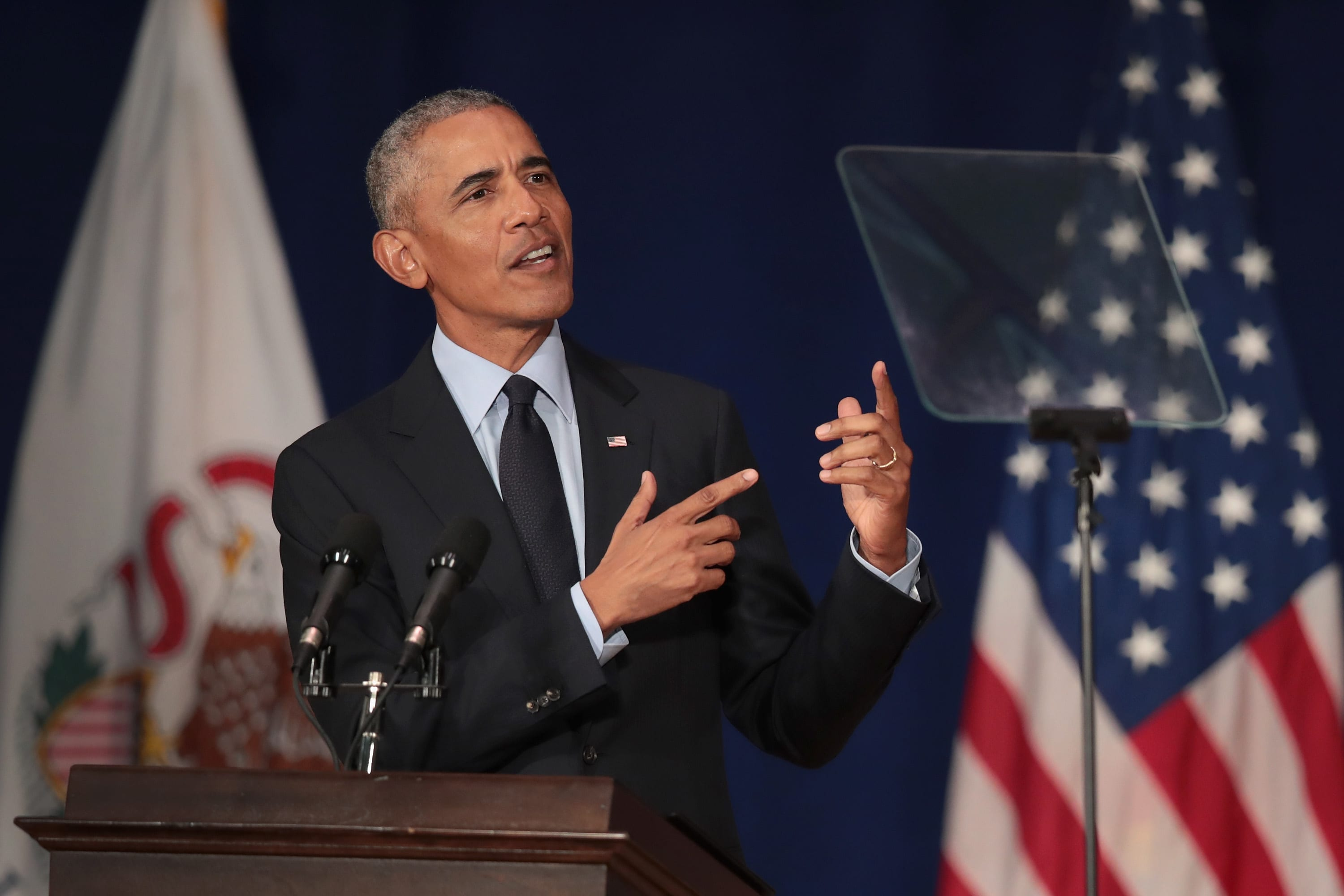 Obama warns Democrats against going too far left: 'We have to be rooted in reality'