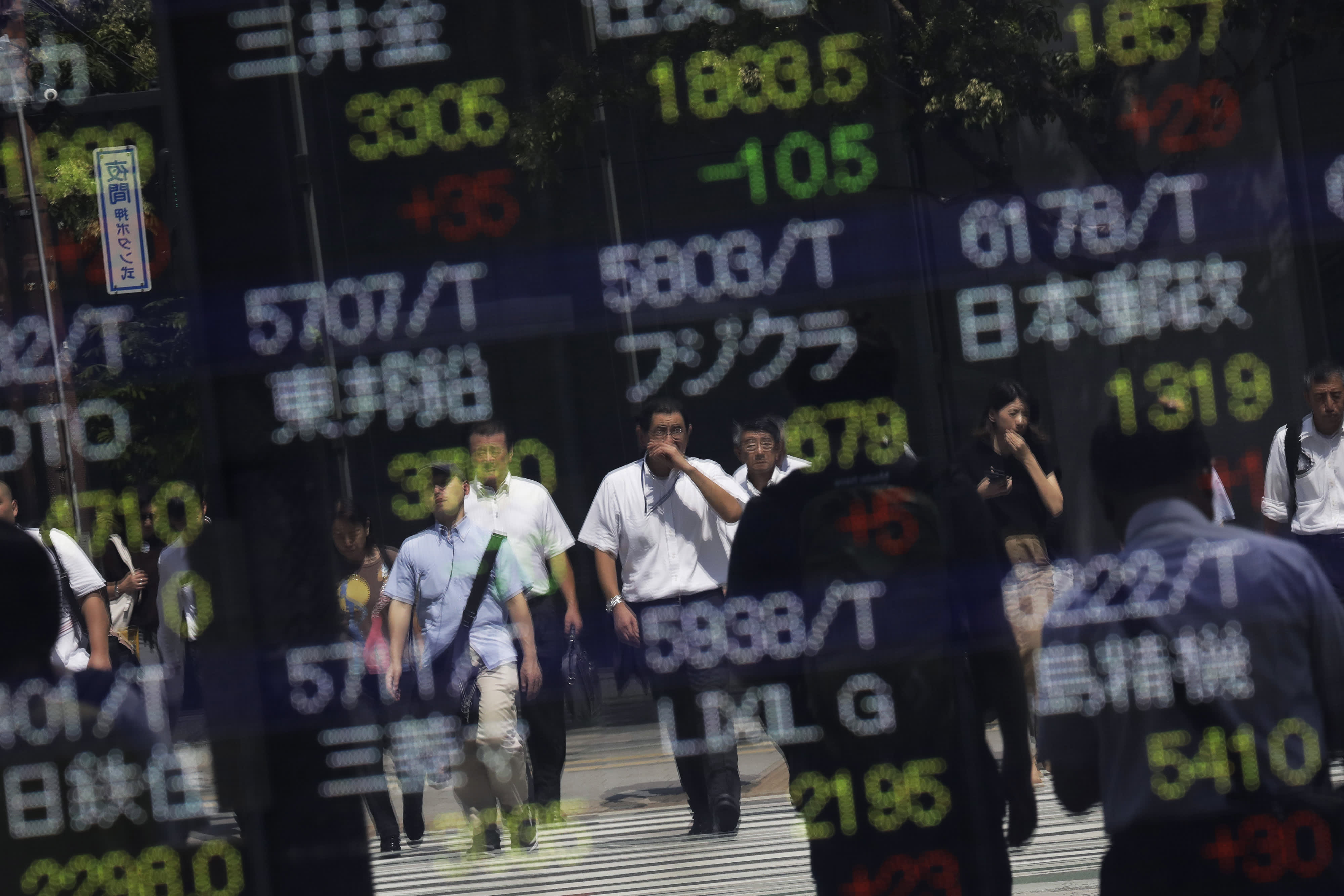 Asia markets higher as Chinese exports unexpectedly decline