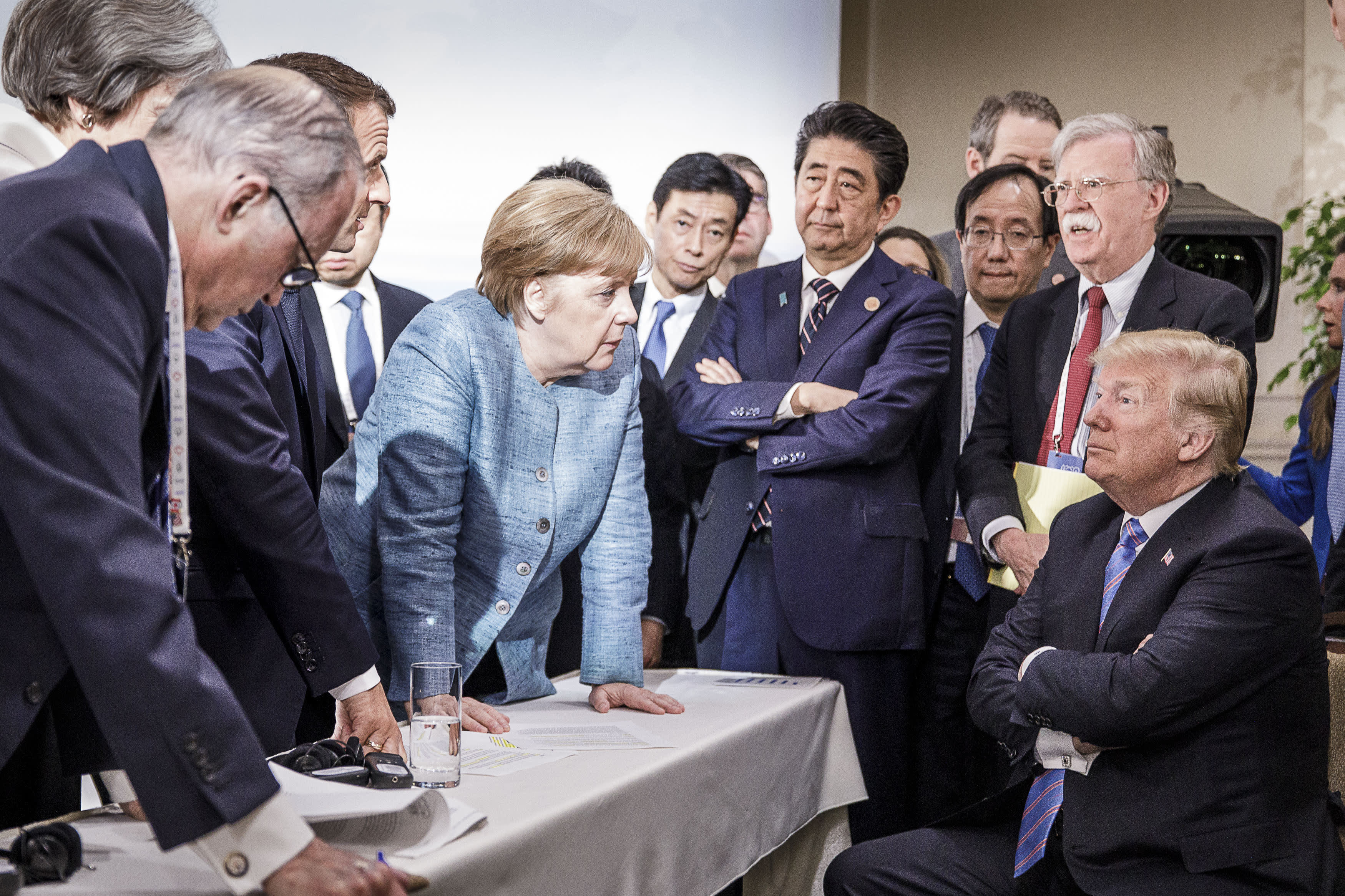G-7 summit set to end without an agreement for the first time in history