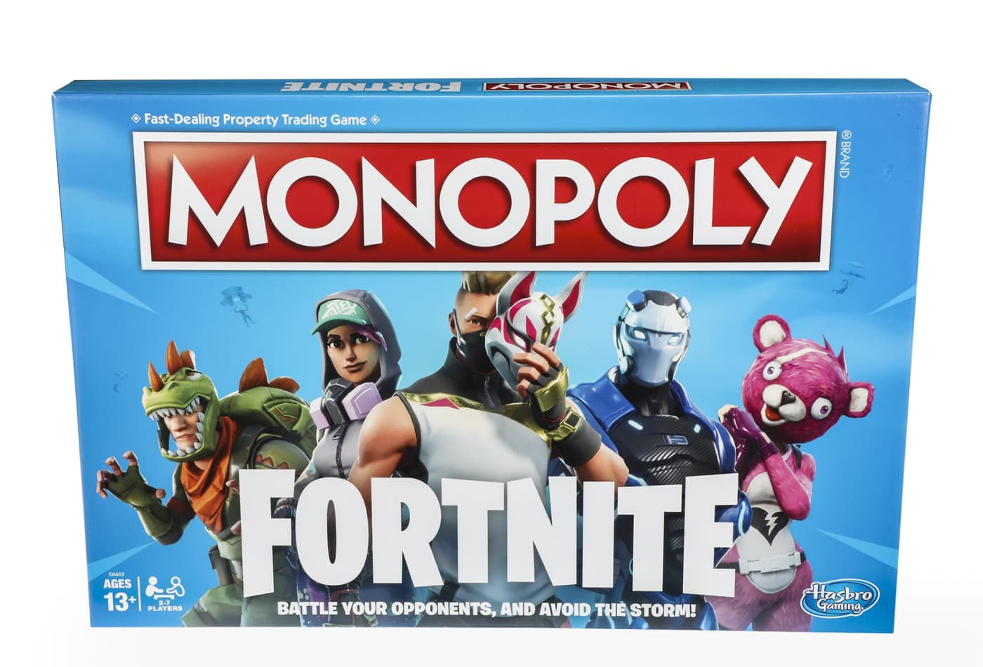 Hasbro Is Making Fortnite Versions Of Monopoly And Nerf