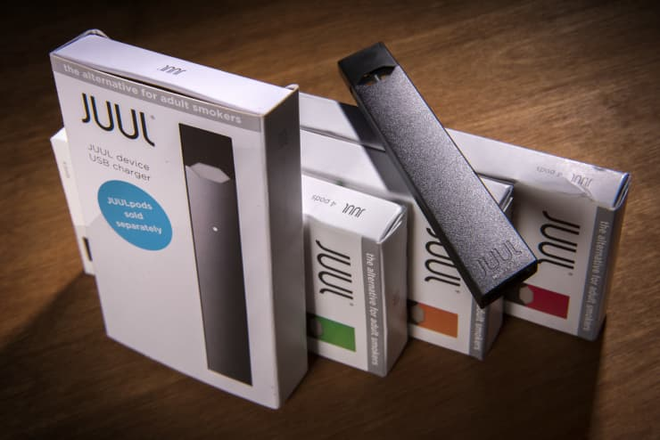 GP: The Juul vaping system in Washington, DC.
