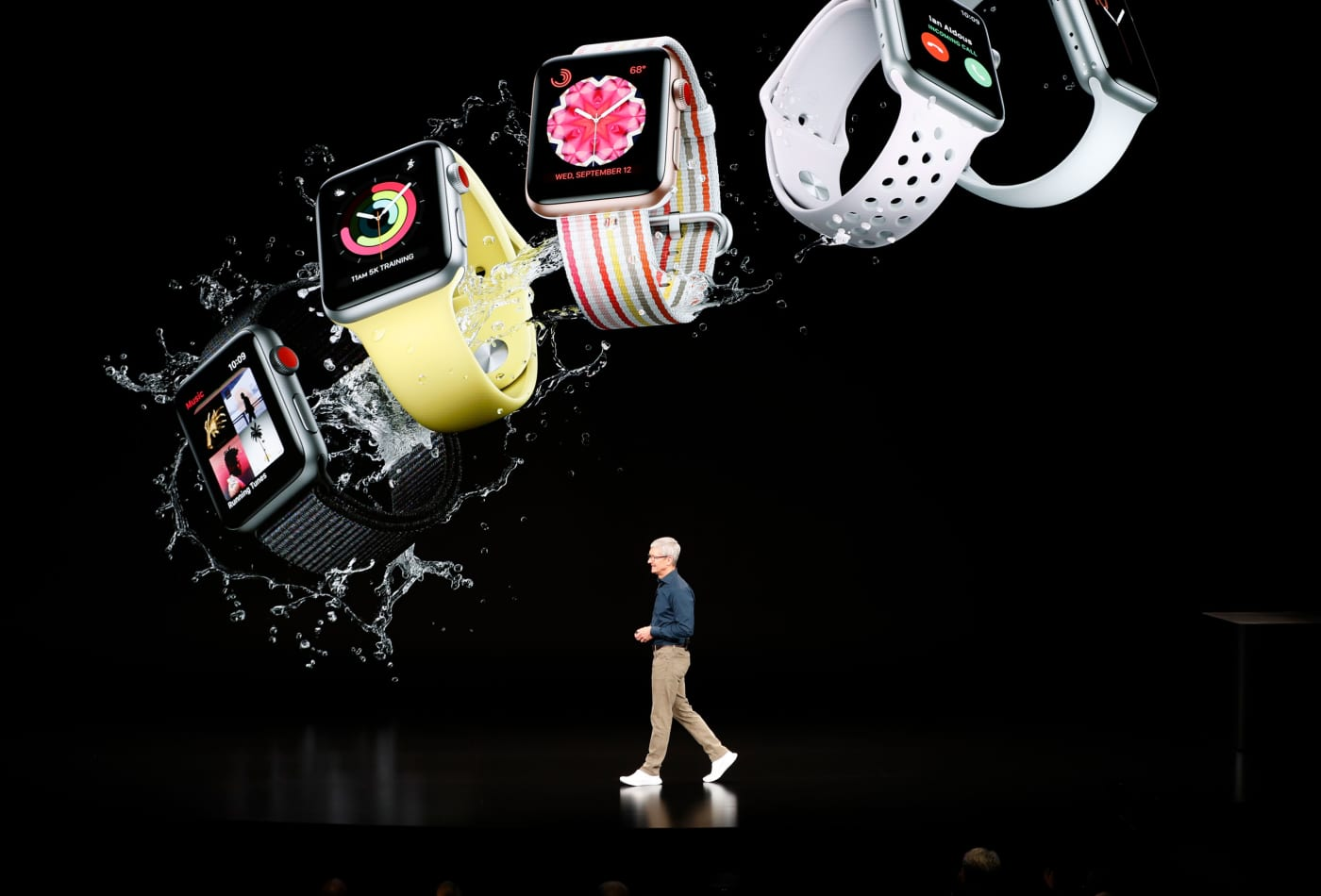 Apple and Eli Lilly are studying whether data from iPhones and Apple Watches can detect signs of dementia