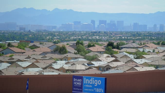 GP: Las Vegas housing, North Las Vegas.