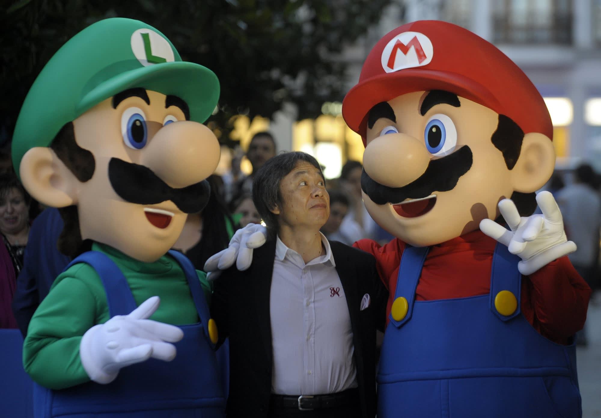 Super Mario Bros How Shigeru Miyamoto Created Mario For