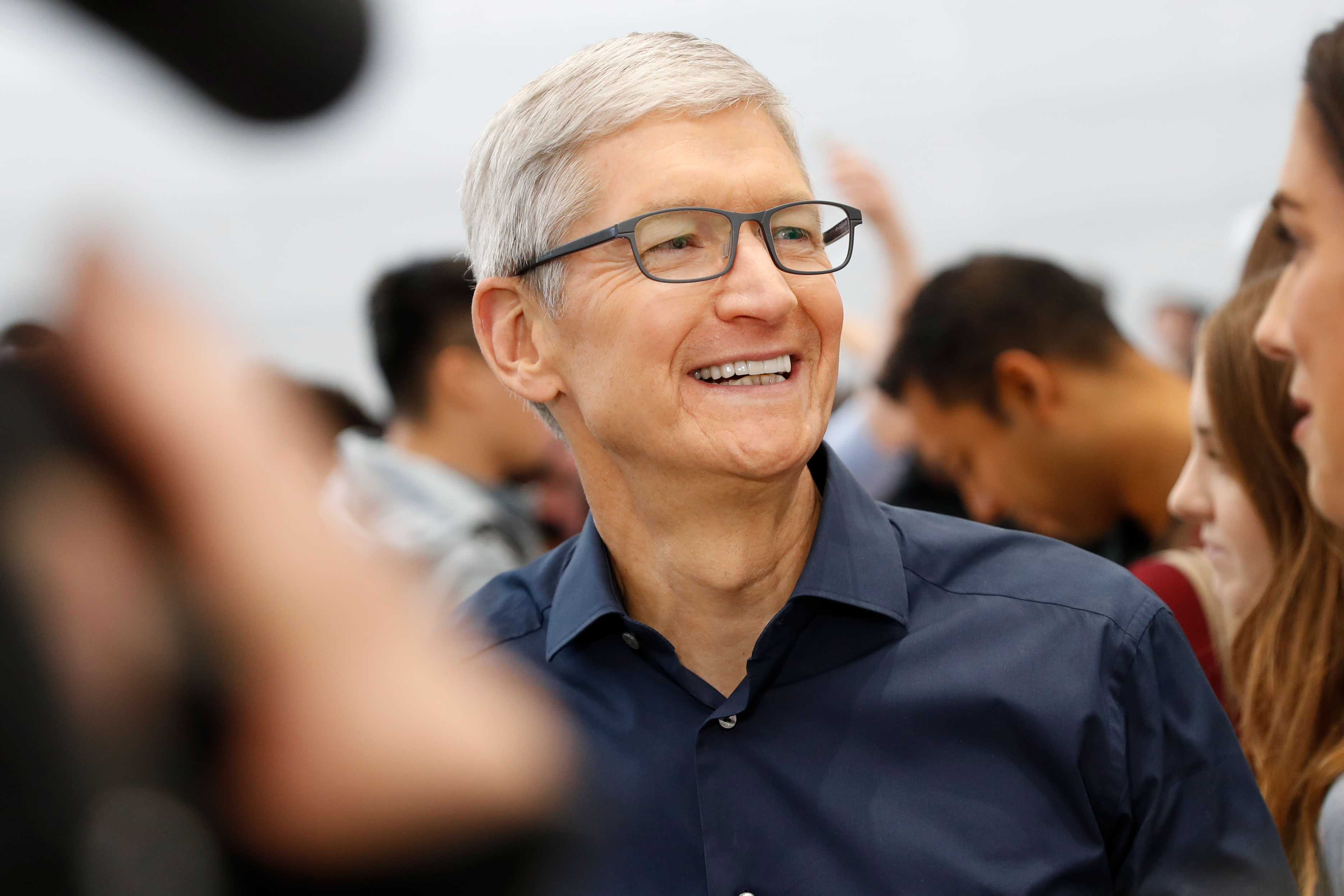 Apple CEO Tim Cook explains why Apple products were exempt from Trump's China tariffs