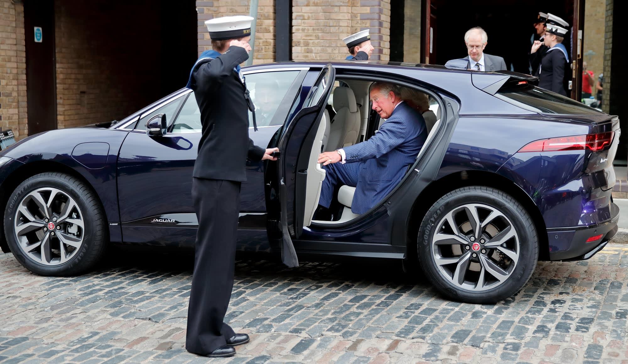 GP: Jaguar I Pace / Prince Charles