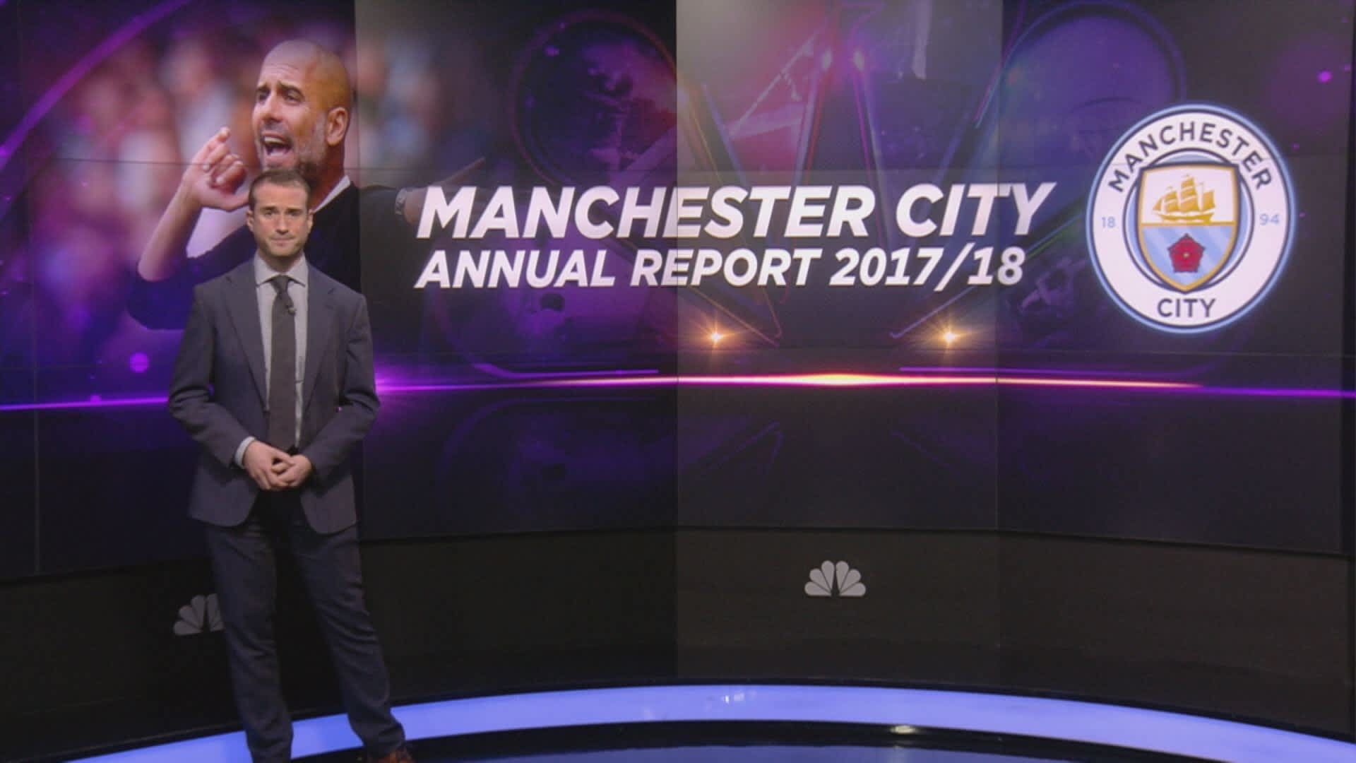 Manchester City reports £500 million revenue