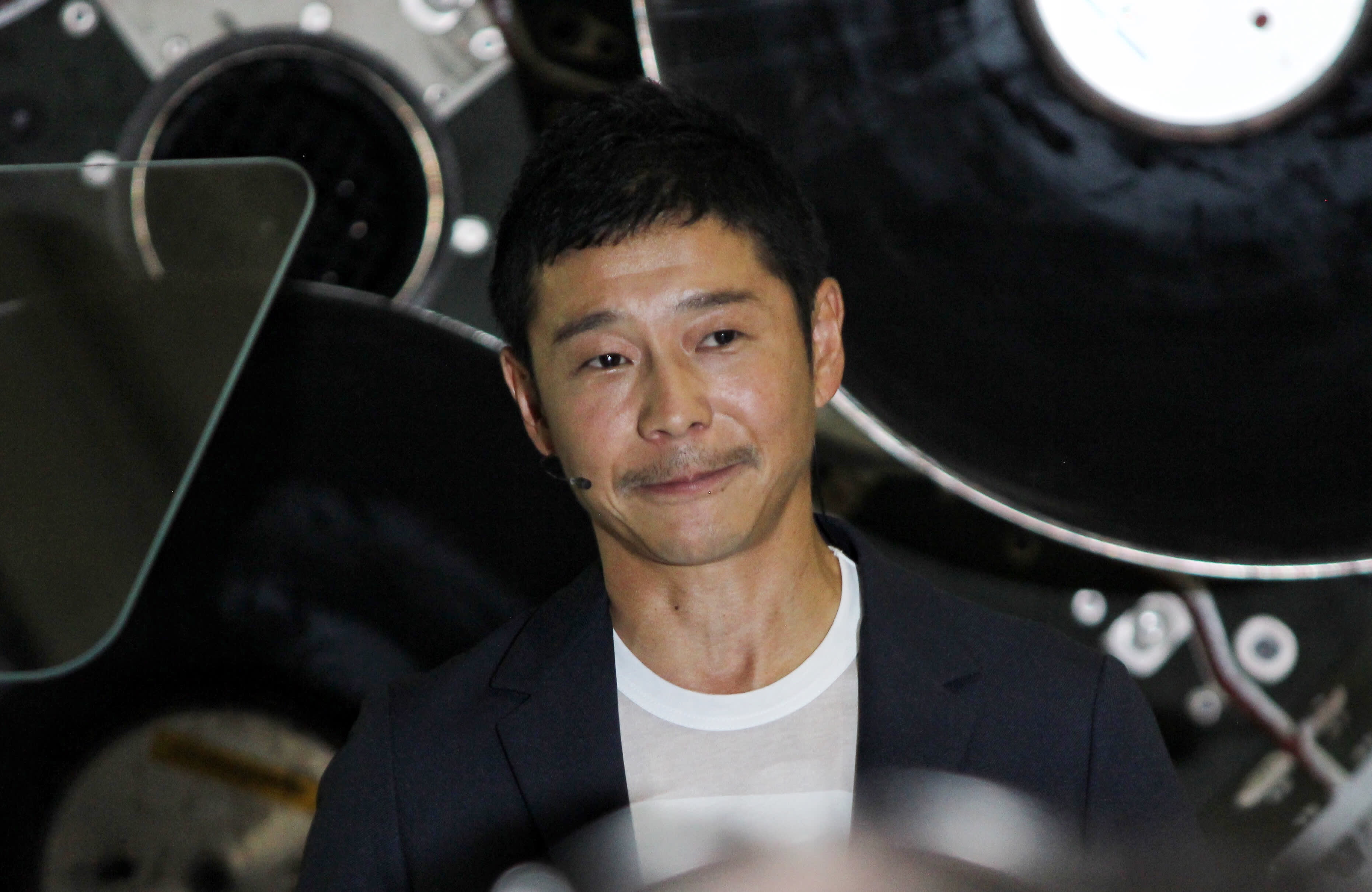 CNBC: Yusaku Maezawa SpaceX close up 180917