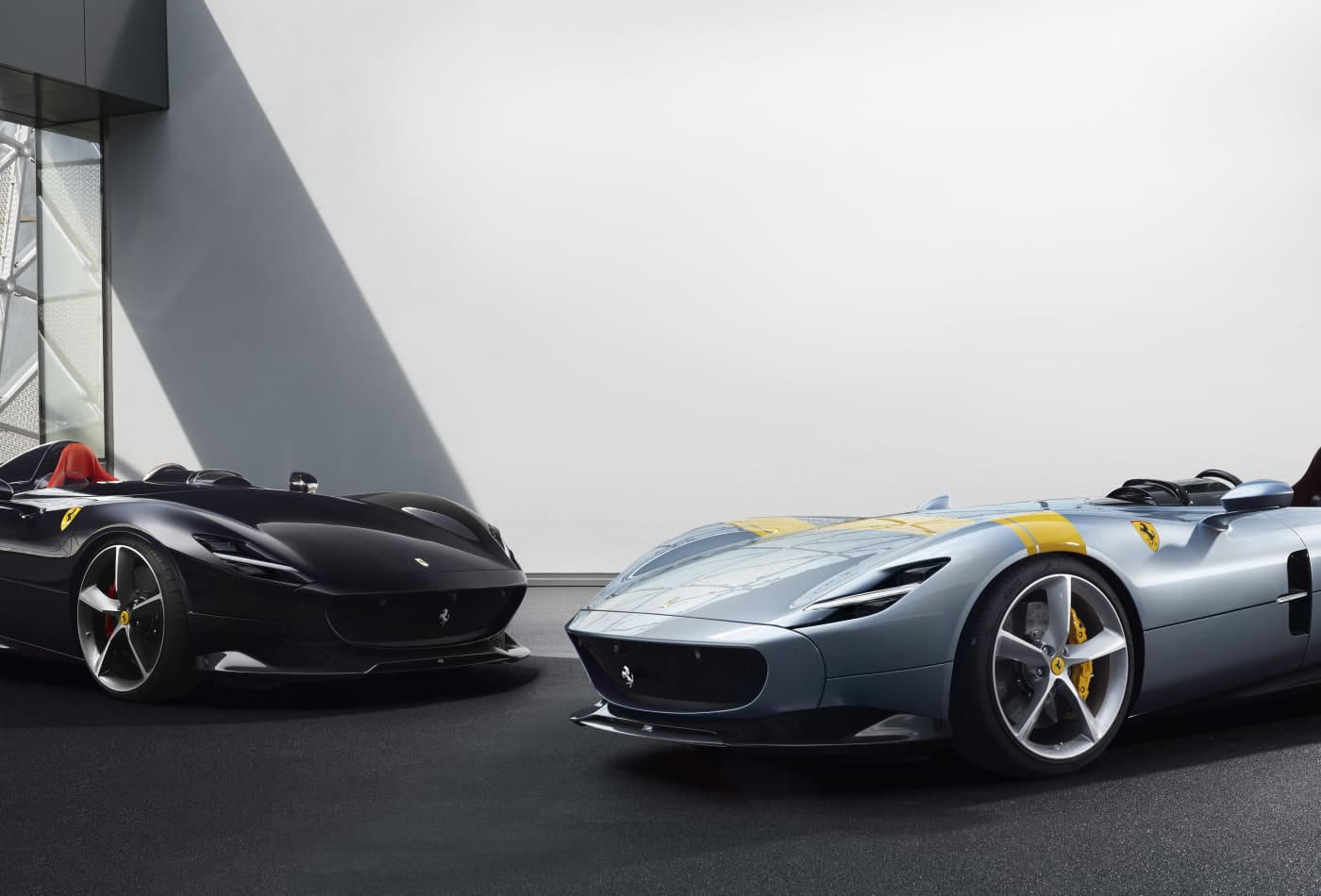 Ferrari Unveiled Two New Car Models On September 18 2018 They Are Led The Monza Sp1 And Sp2