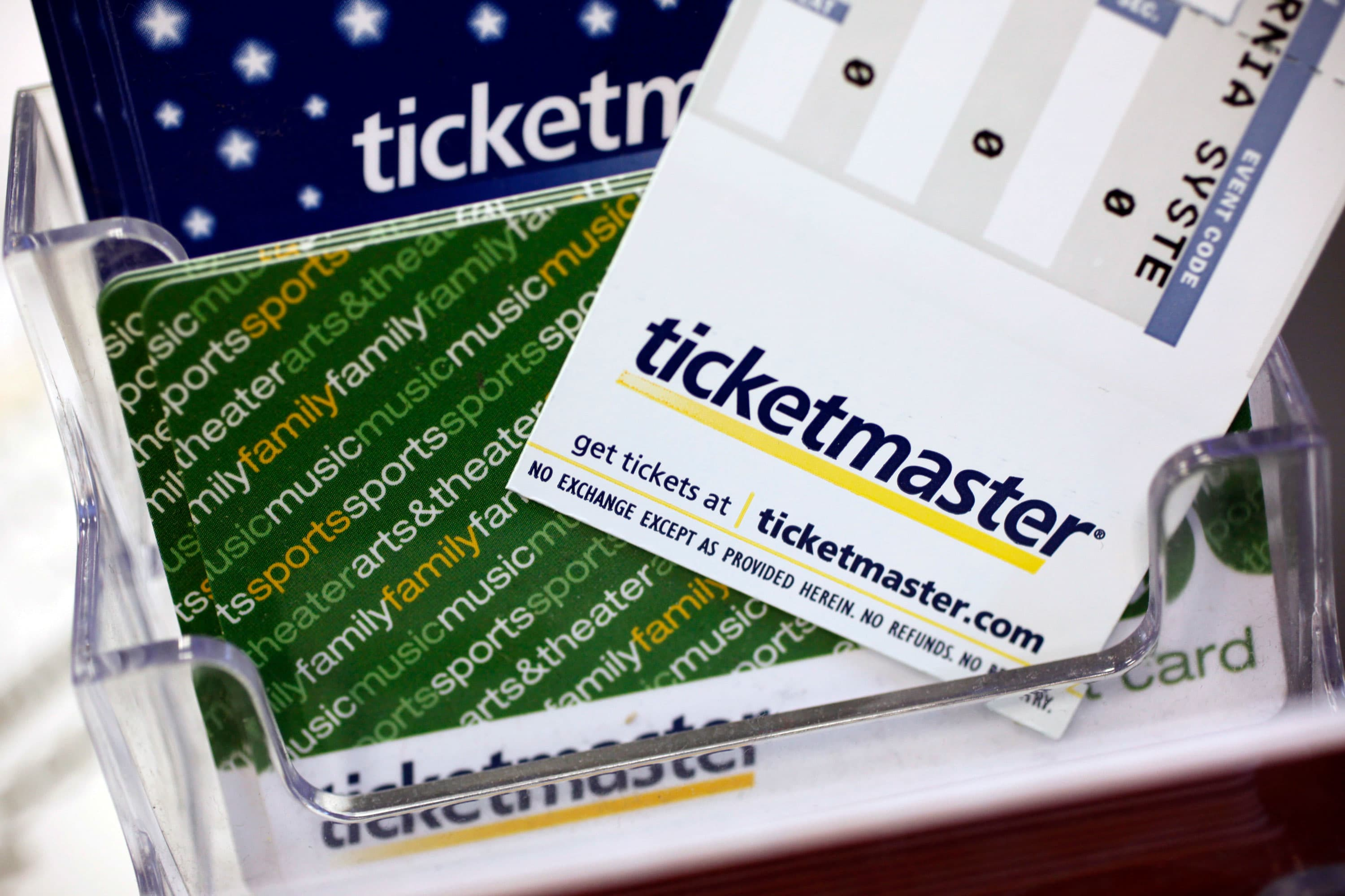 Ticketmaster owner Live Nation falls on report of planned DOJ action for alleged merger agreement violation
