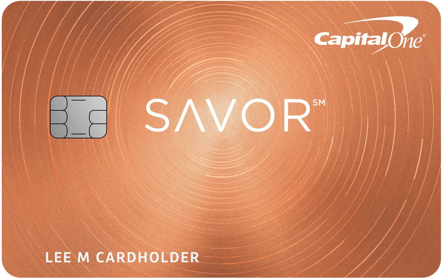 Credit card: Capital One Savor (New)