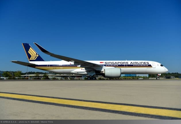 Singapore Airlines takes delivery of a plane to fly world\'s ...