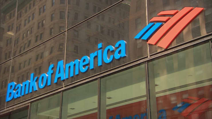 CNBC Investigation: Bank of America signage