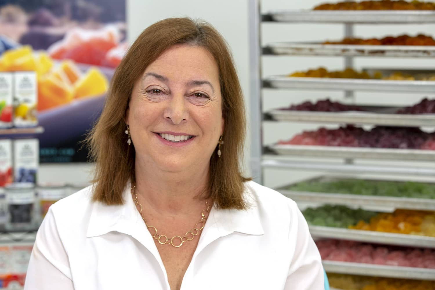 This 60-year-old with an MBA now brings in millions selling cannabis candies