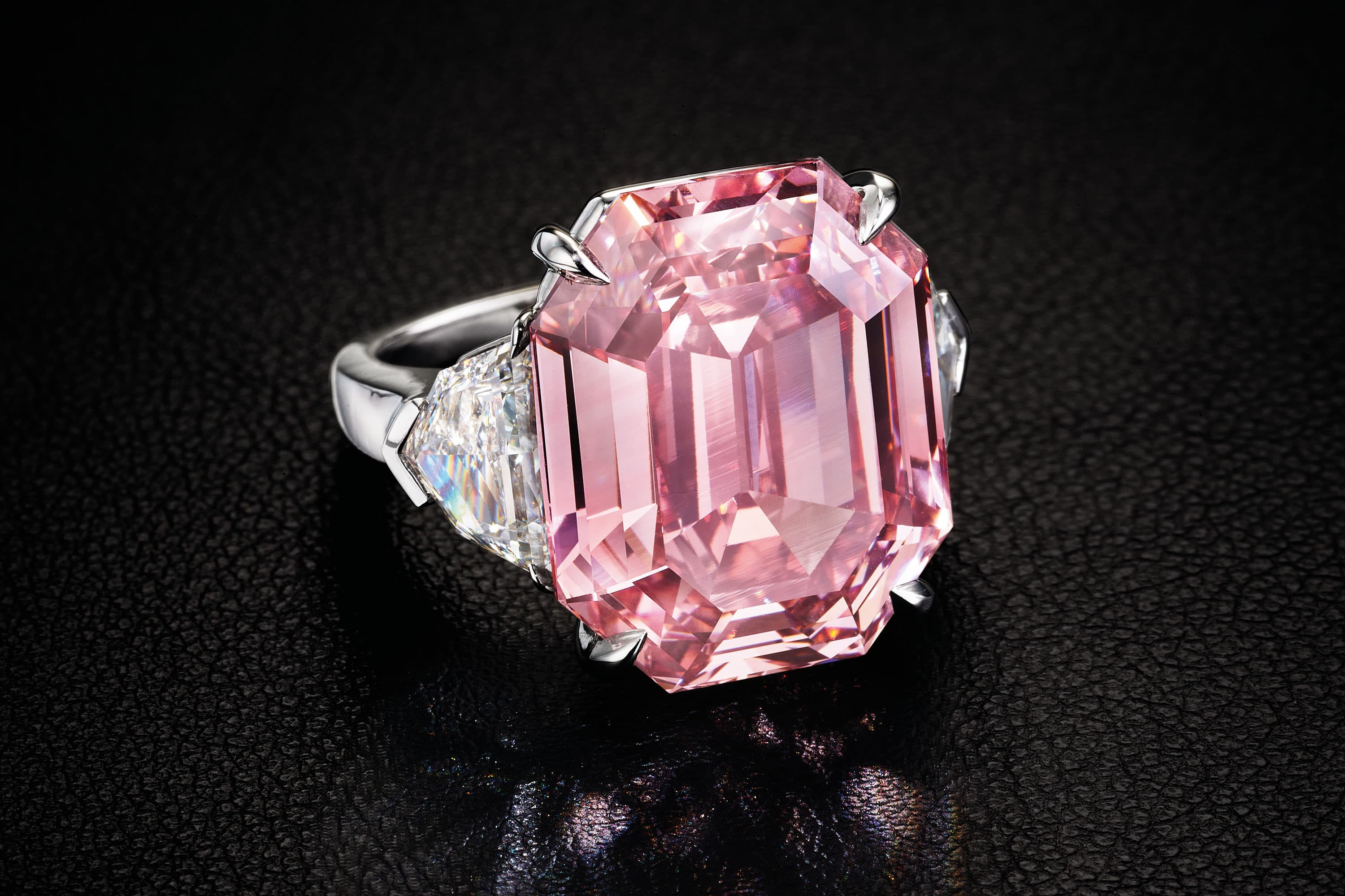 This 19 Carat Pink Legacy Diamond Could Fetch 50 Million