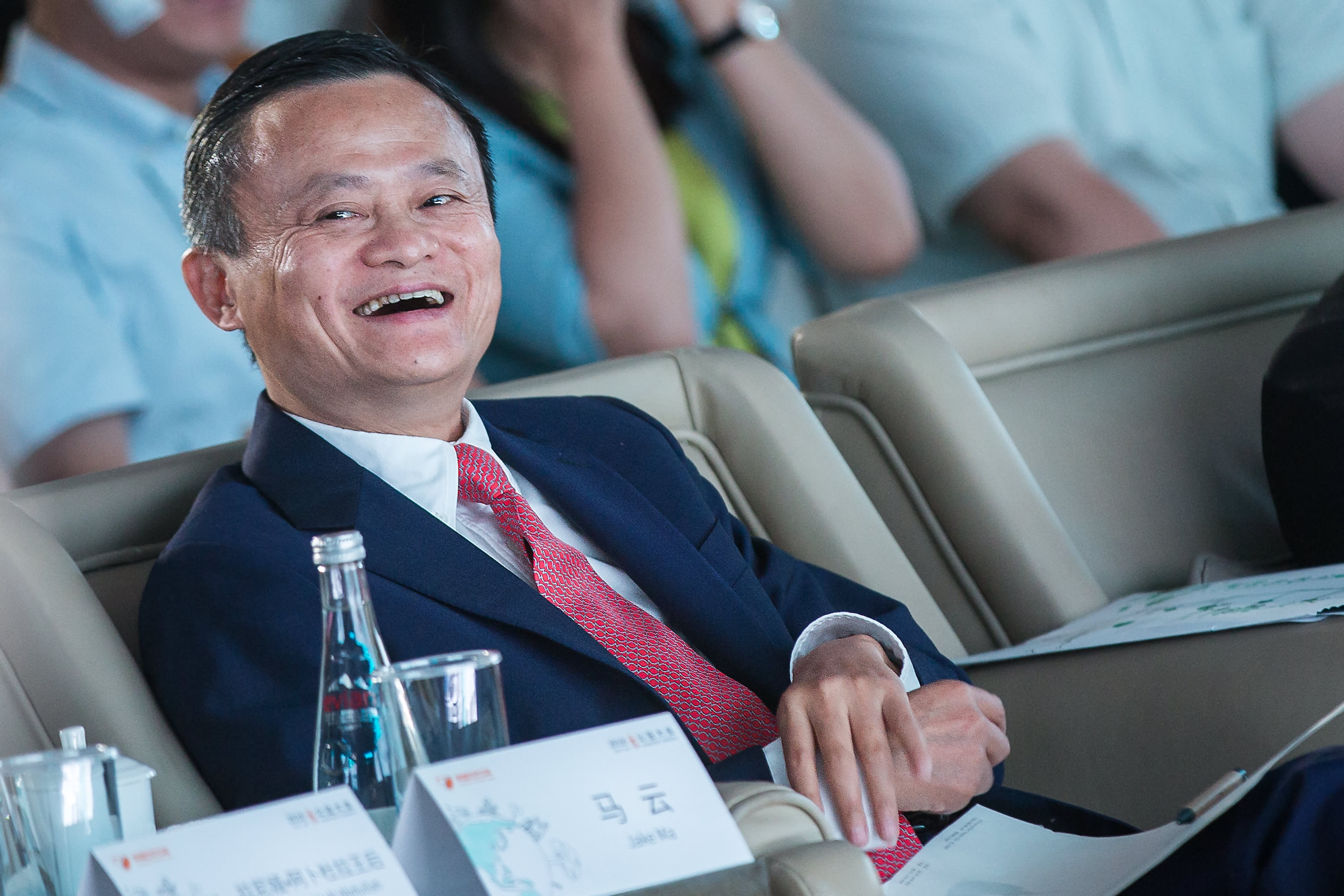Alibaba Group Chairman Jack Ma attends 2018 Alibaba Xin Philanthropy Conference on September 5, 2018.