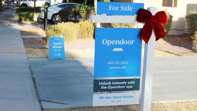 H/O: Opendoor sign