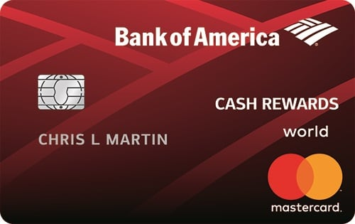 Credit Card: Bank of America Cash Rewards Student