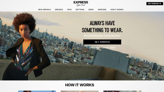 7507d078a3a Express is the latest retailer to launch a clothing rental service
