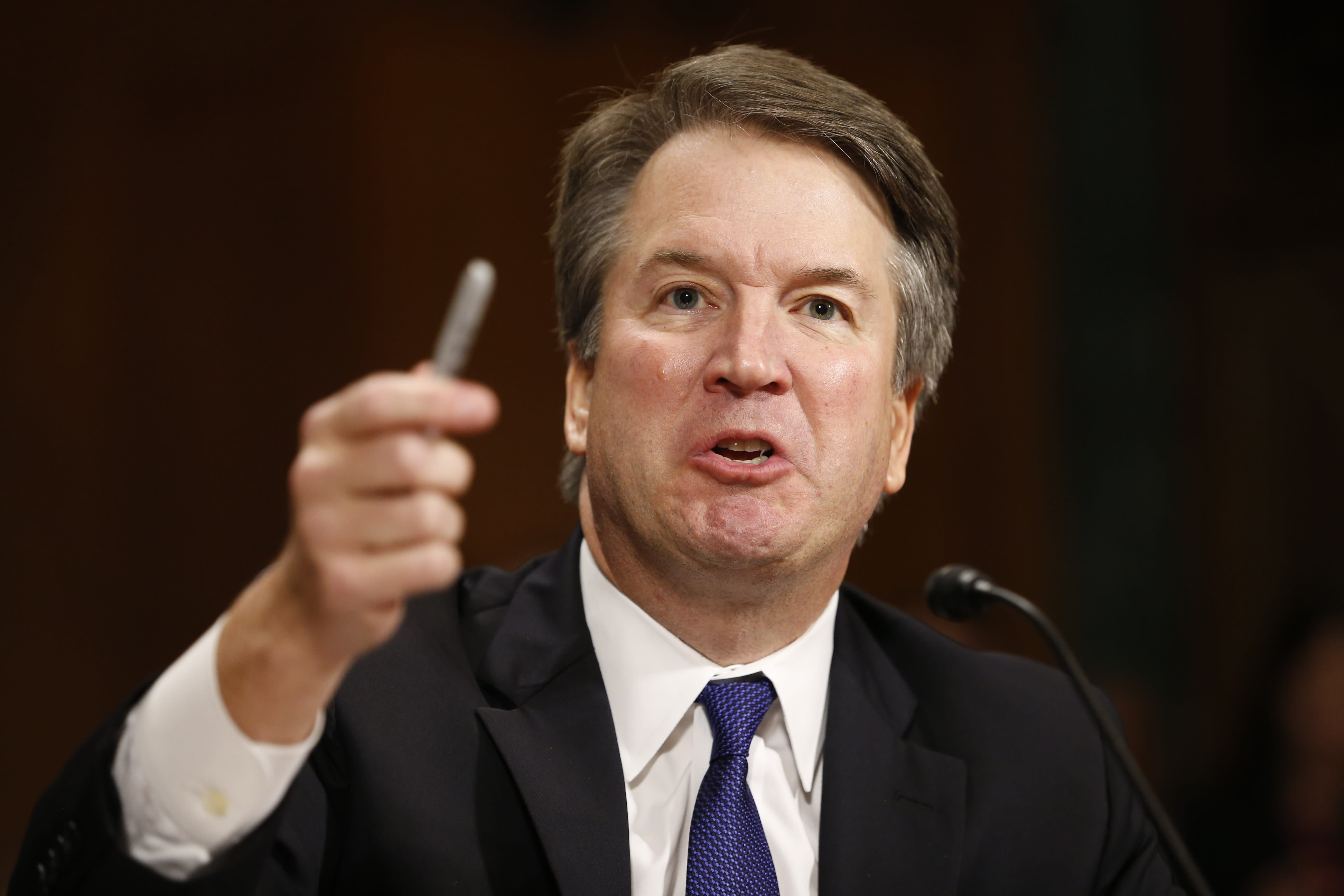 c38b71938e6 Facebook employees are reportedly outraged at exec appearing at Kavanaugh  hearing