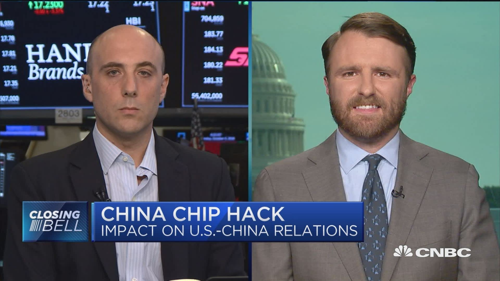 China chip hack: Impact on US-China relations