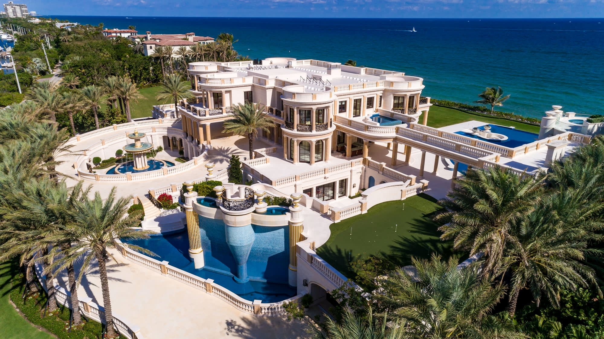 This 159 Million Florida Mansion Is Up For Auction Take A Look Inside