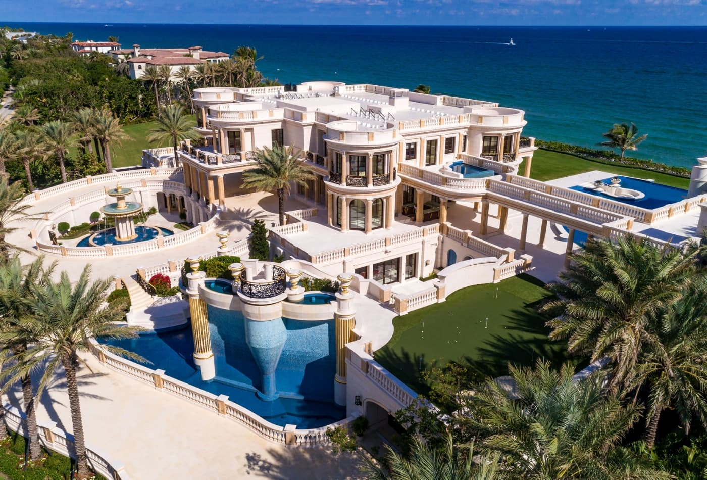 This 159 Million Florida Mansion Is Up For Auctiontake A