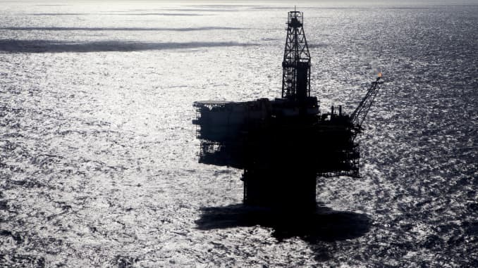 GP: Offshore oil rig