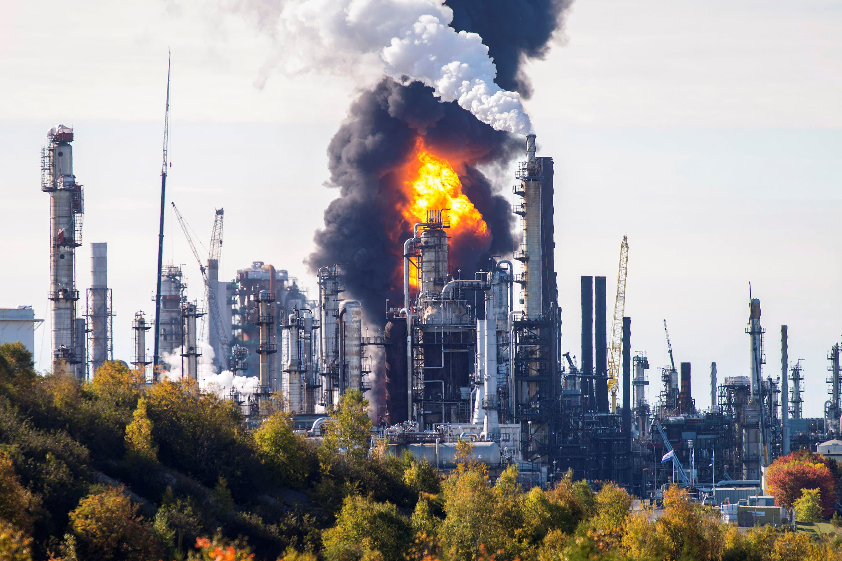 Explosion reported at Irving Oil's Saint John refinery