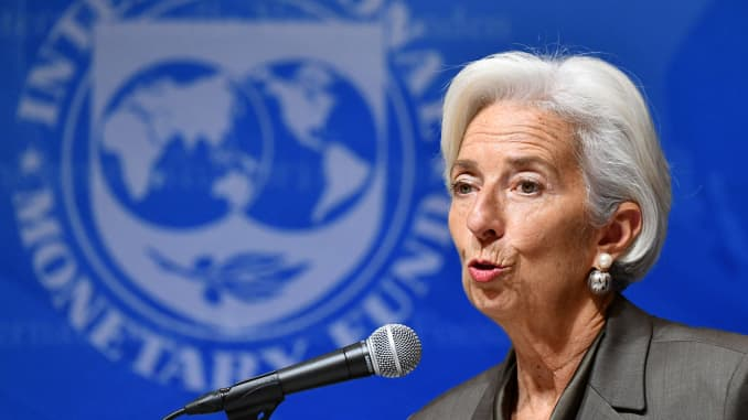 IMF's Lagarde in the running to replace Draghi at the ECB