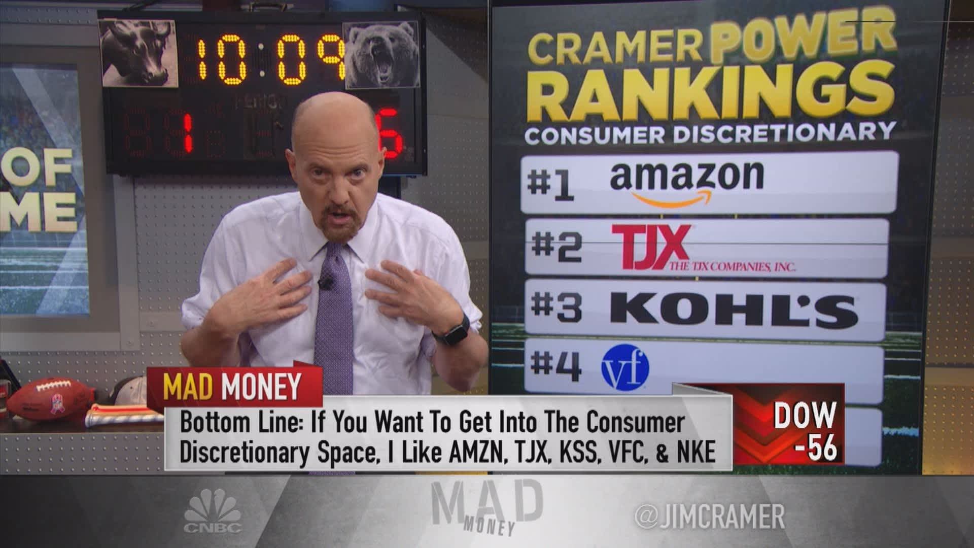 228bb374f6 Cramer on 5 consumer discretionary stocks he likes right now