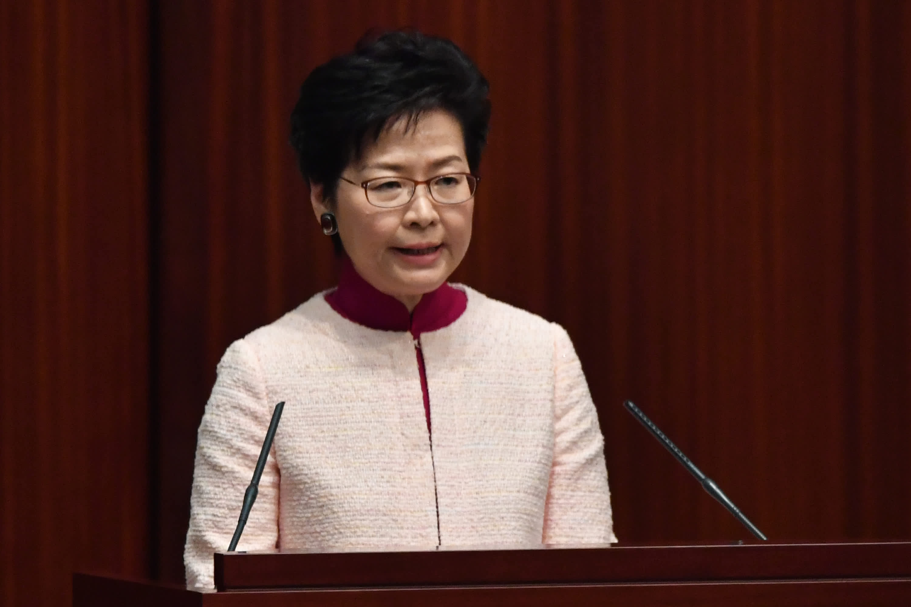 Carrie Lam suggests foreign influence in Hong Kong protests: 'Perhaps there is something at work'
