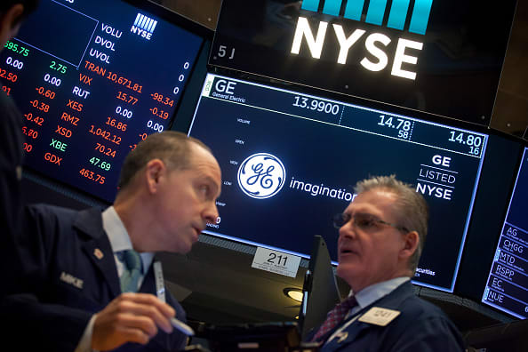 Stocks making the biggest moves midday: General Electric, Walmart, Alibaba and Tapestry