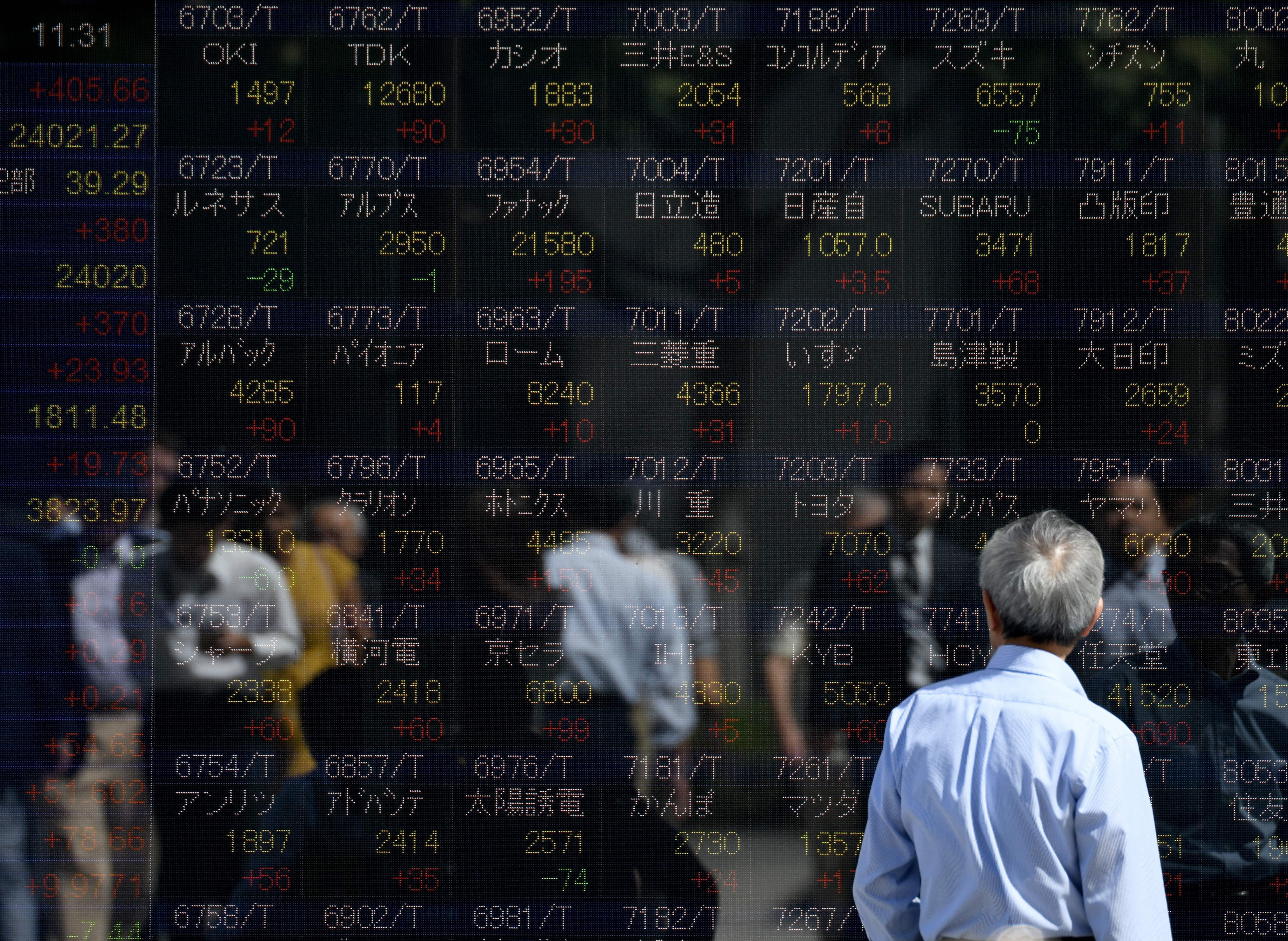 Asia markets trade mixed as investors remain cautious over the US-China partial trade deal