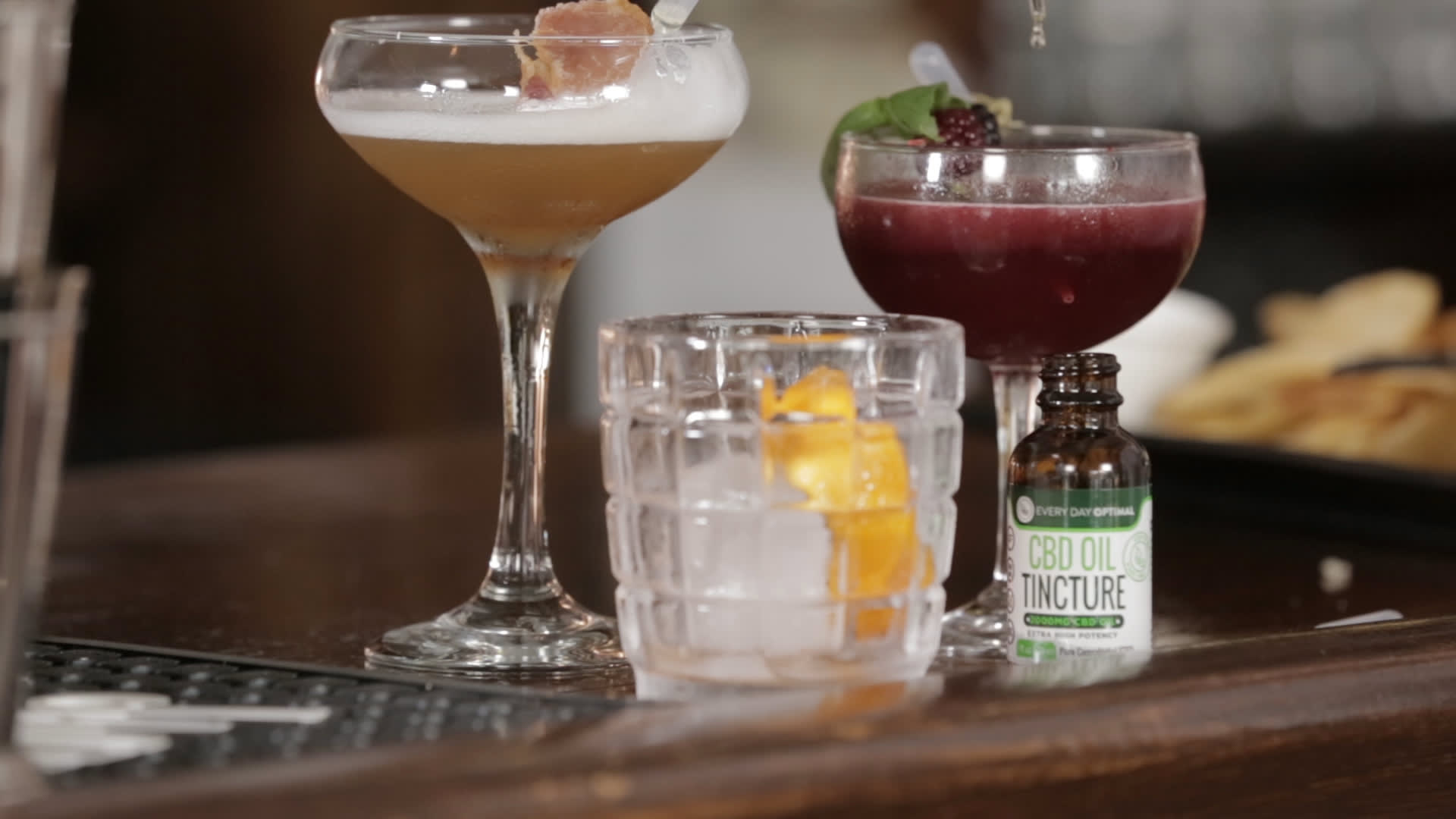 We tried CBD-infused cocktails and we couldn't tell the difference