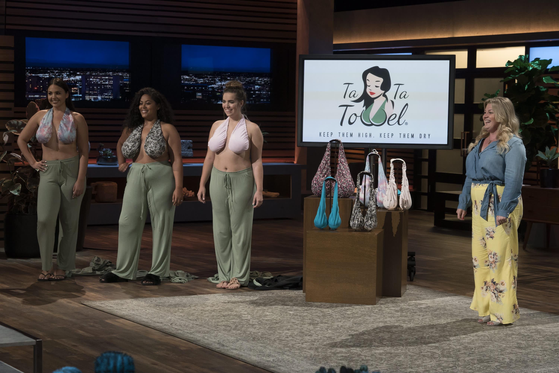 Shark Tank': The Ta Ta Towel solves breast sweat