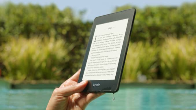 Amazon Kindle Paperwhite 2018 adds water resistance and