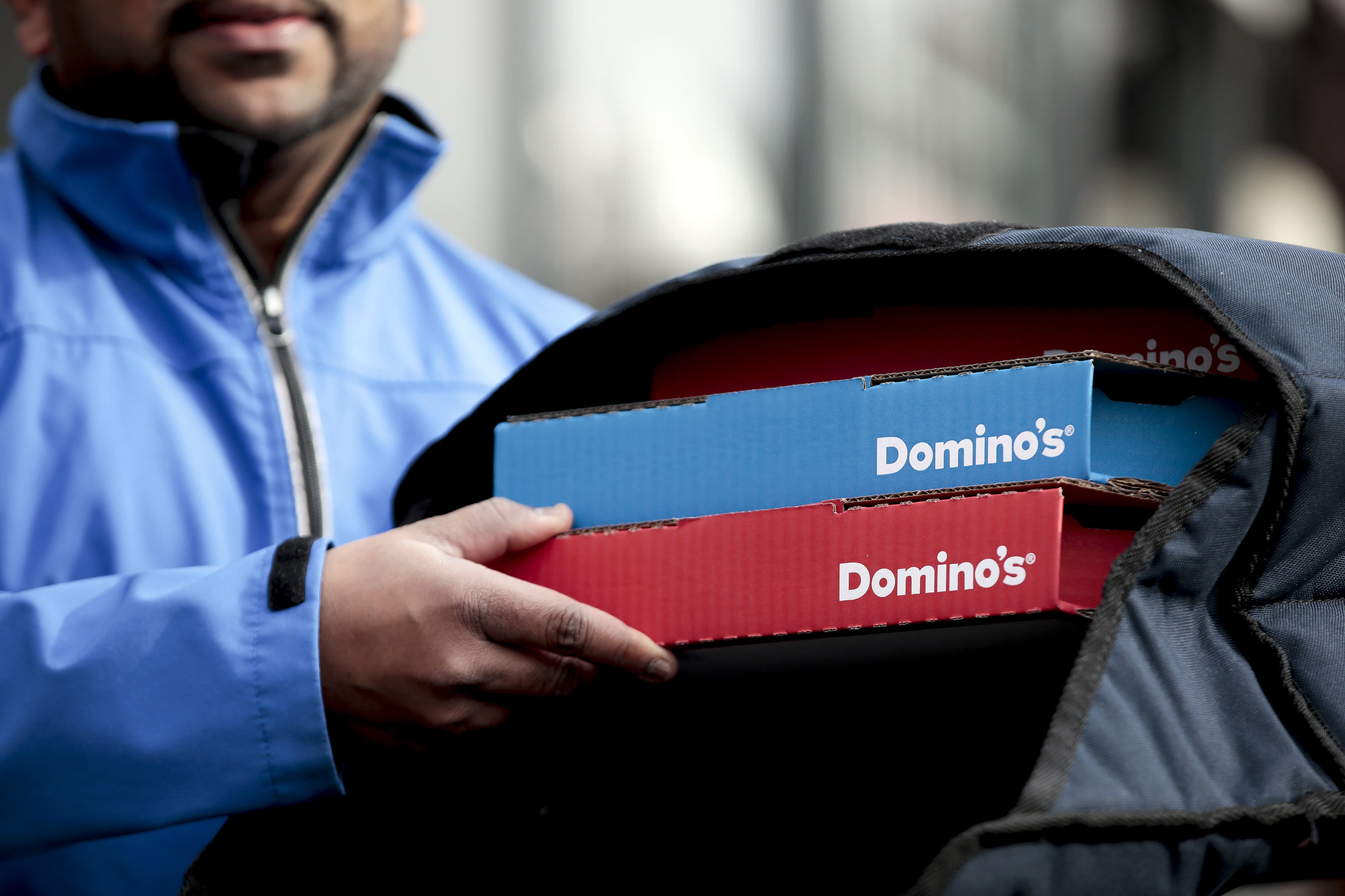 dominos doordash