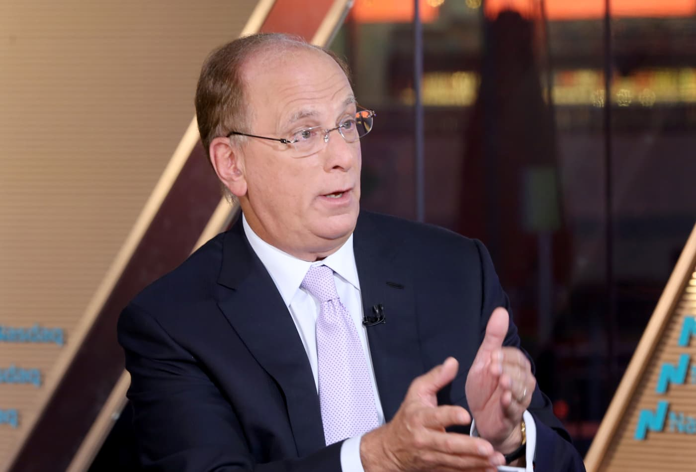 BlackRock CEO Larry Fink calls a bottom in stocks (for now), but warns about geopolitical risks