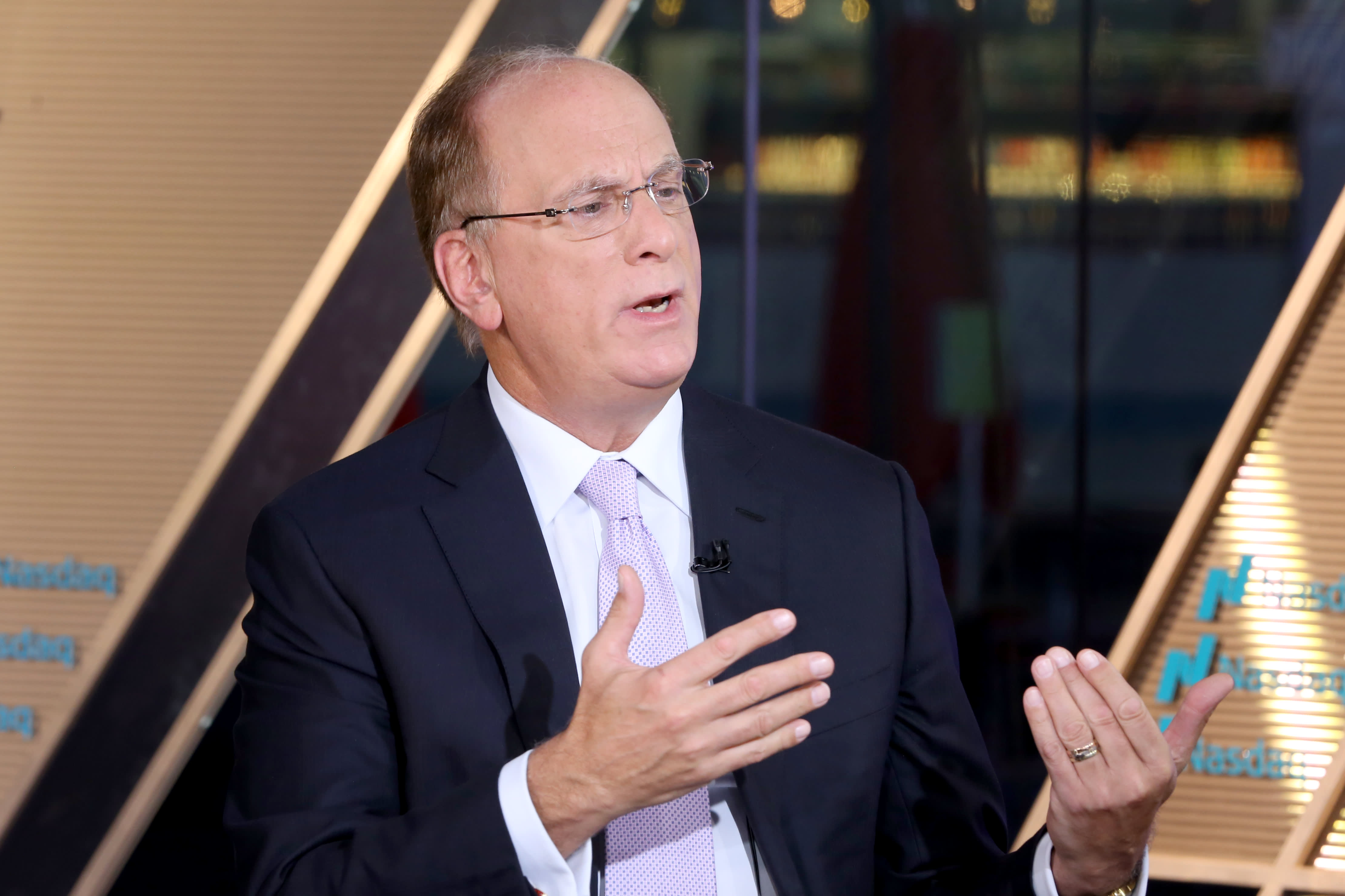Larry Fink isn't concerned about Iran sanctions' impact on the price of oil