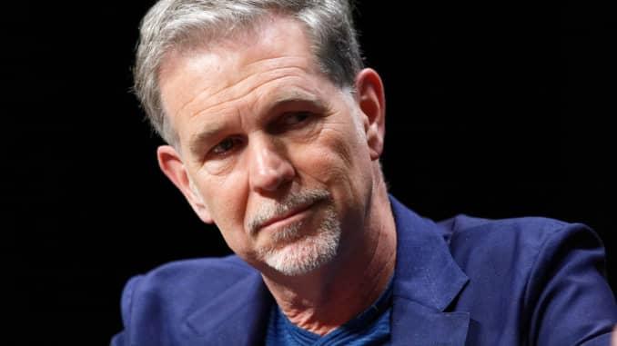 GP: Reed Hastings Netflix serious