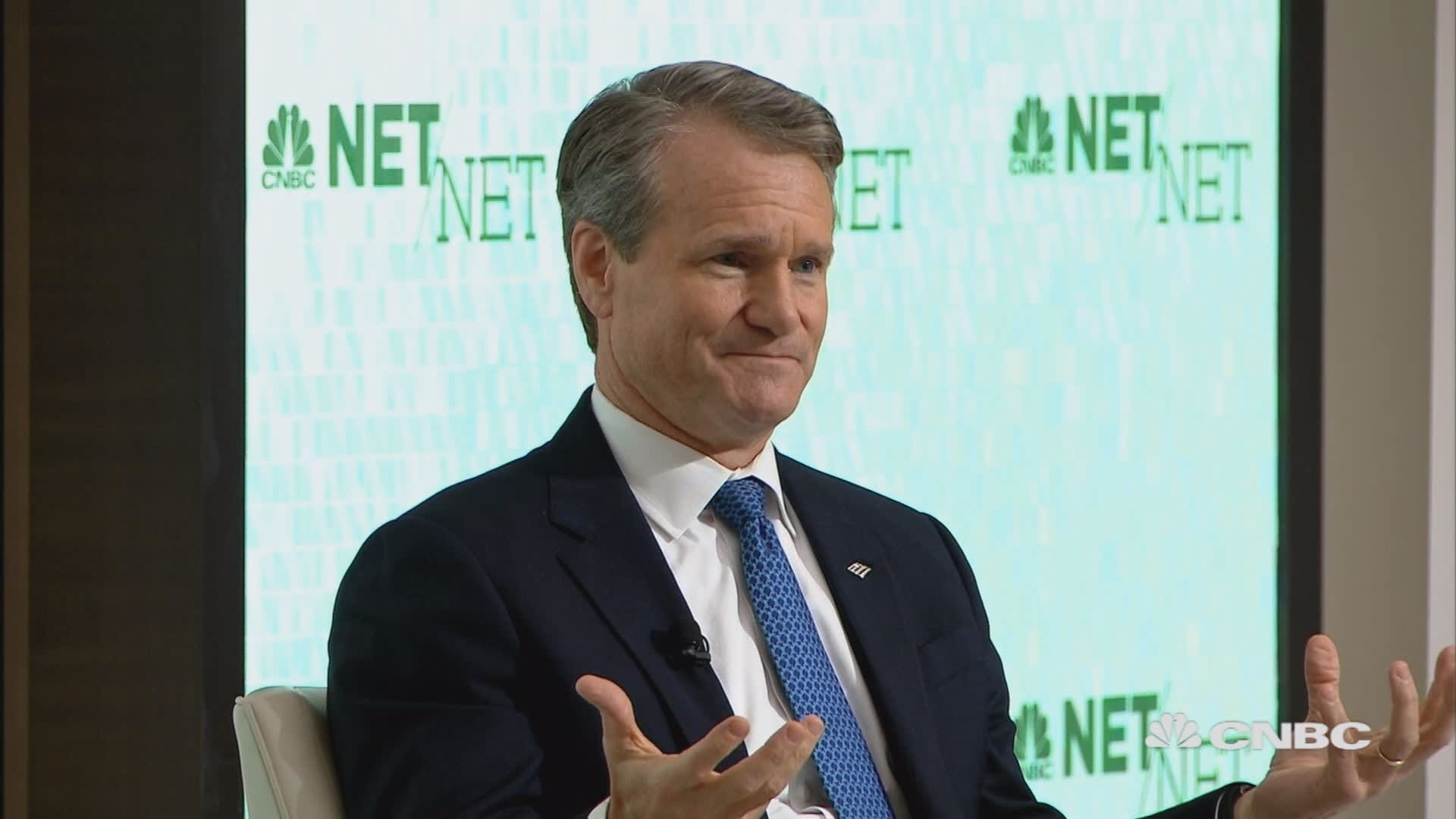 Bank of America's Moynihan on the impact of technology