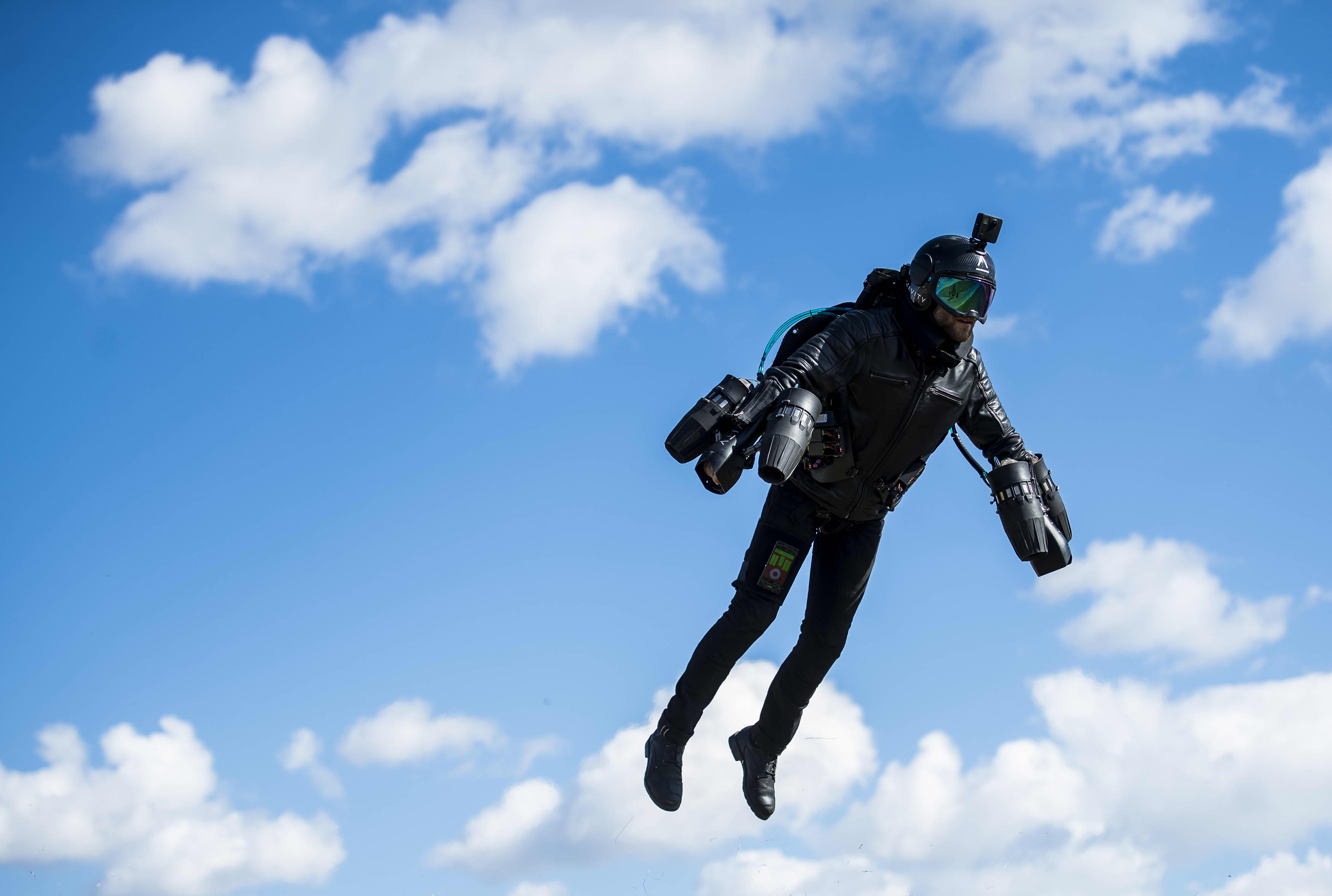 I got to test drive a $440,000 flying Gravity Jet Suit