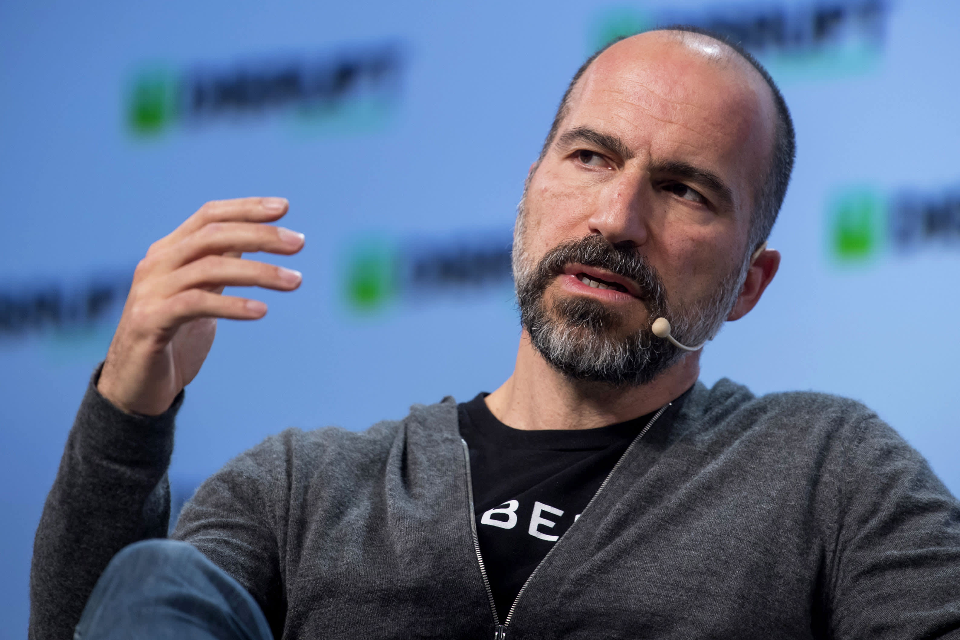 Uber stock falls after earnings beat estimates, but quarterly loss topped $1 billion