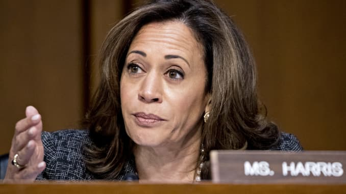 Kamala Harris, Democrats push to repeal and replace Trump